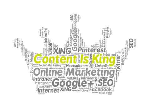 How to Start Building Your Brand As a New Business Content is King and good for SEO