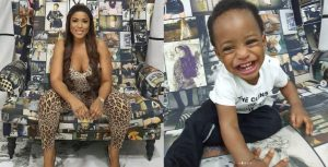 Linda Ikeji Shares Lovely Photos To Celebrate Her Son's Birthday