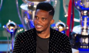 Eto'o snubs Messi, names greatest player he ever played with