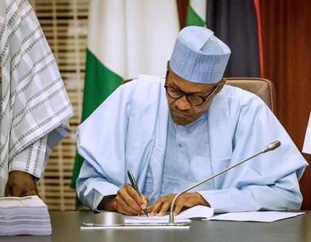 Presidency to spend N82.2m on sewage in 2020 •Budgets N463.6 million for food, refreshment