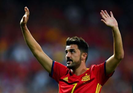 David Villa Announces Retirement After Glittering Career