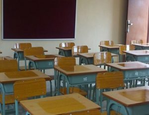 Oke-Ado High School '87 set renovates block of classrooms