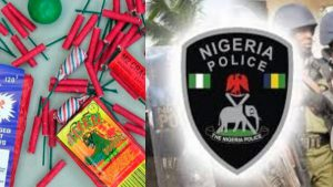 Police gives strong warning over use of fireworks during yuletide
