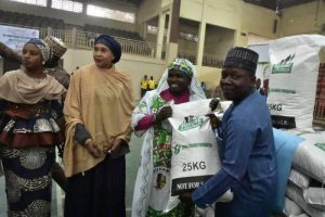 Kannywood, Hisbah, others share Aisha Buhari's food items in Kano