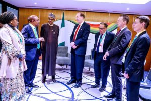 Photo News: Buhari holds bilateral meetings with World Bank, Ghanaian President