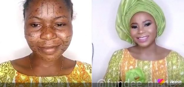 This Make-Up Transformation Of A Lady Set Social Media On Fire (Images)