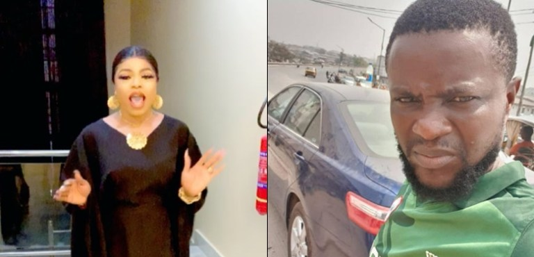 Bobrisky has accused his driver of stealing