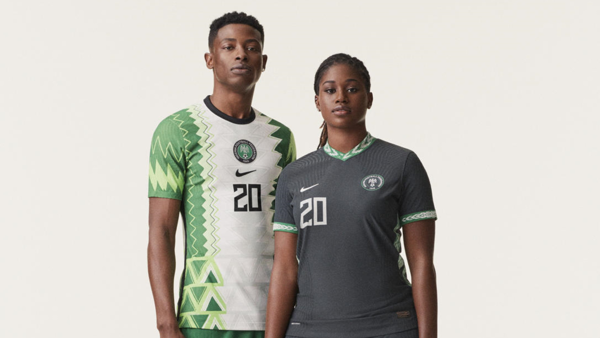 Nike unveils new kit for Super Eagles
