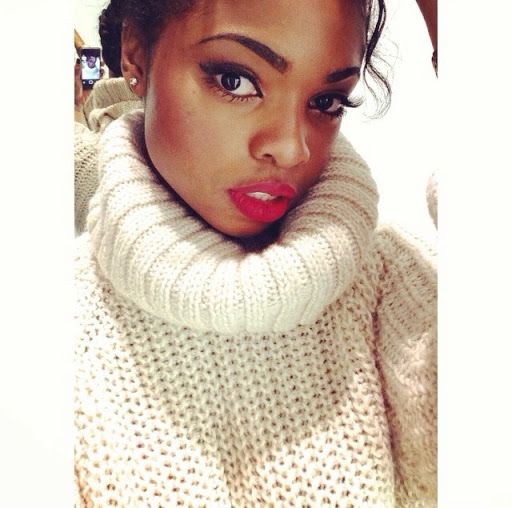 """Image result for Picture of black woman wearing sweater"""""""