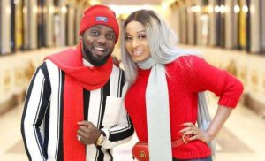 AY Holds Isolation Birthday Party For His WIfe, Mabel As She Adds Another Year (Video)