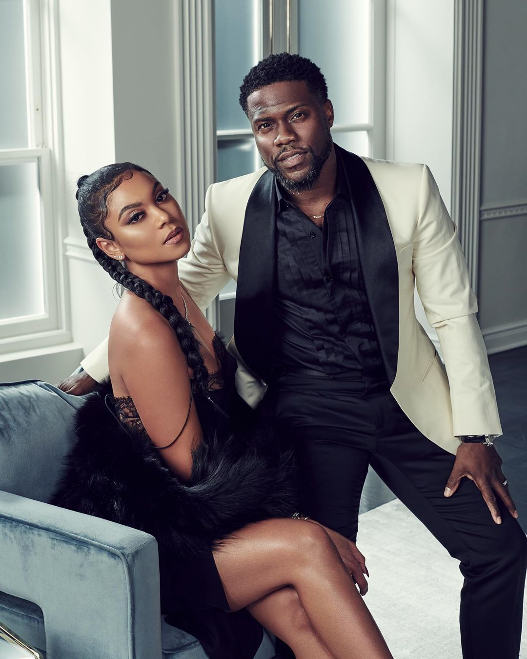 Eniko Parrish and her husband, Kevin Hart