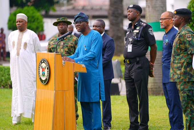 Lagos state government orders closure