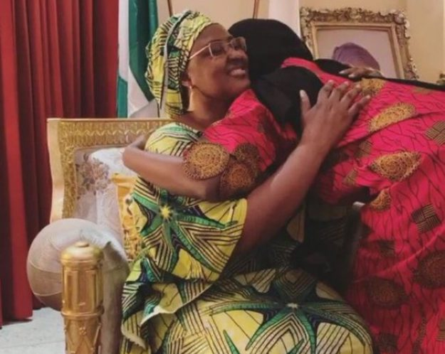 Coronavirus: Aisha Buhari gives update on daughter's health