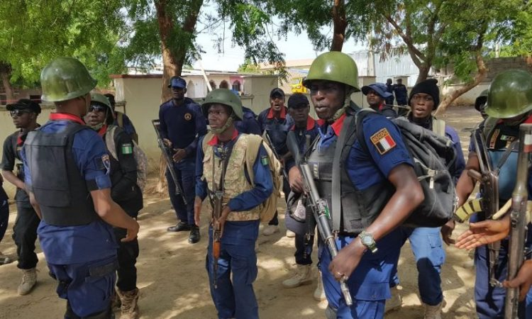 NSCDC Operative deployed to combat coronavirus.