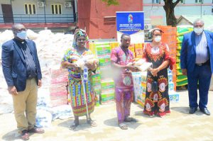 COVID-19: Anglican Diocese of Lagos donates food items, medical supplies to less privileged