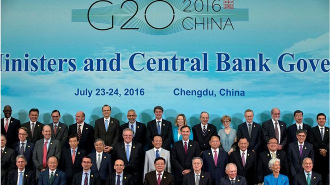 China and G20 world leaders