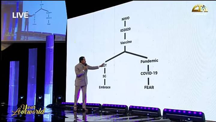 Pastor Chris Oyakilome links 5G network to the deadly Corona Virus (Watch Video)