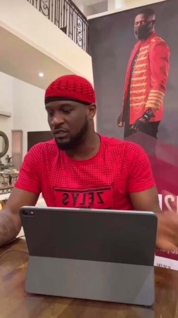 Peter Okoye completes house rent of follower who asked for his help