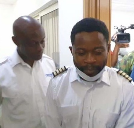 Pilots arrested