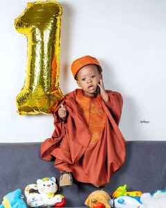 Bidemi Kosoko Celebrates Son's First Birthday With Adorable Photos
