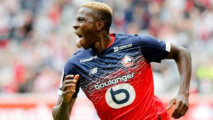 Nigerian striker Osimhen to replace Aubameyang at Arsenal
