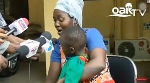 Mother breaks down in tears as her 4-year-old daughter narrates how she was raped by school teacher (Video)