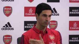 Arsenal vs Leicester: Arteta reveals what happened in dressing room after 1-1 draw