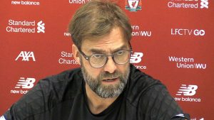 Brighton vs Liverpool: Klopp reveals player that has played his last game for him