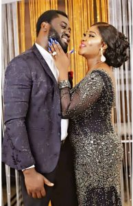 """I no dey hear word, i get wahala"" – Mercy Johnson says as she shares playful video with her Husband."