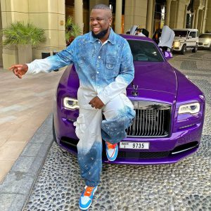 """""""I pray to have a son like you"""" – Lady showers praises on Hushpuppi"""