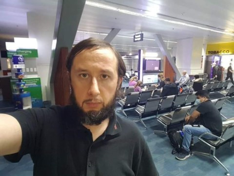 Man stranded in Philippines airport