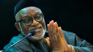 Ondo elections: Gov Akeredolu replies Oke on offer to step down