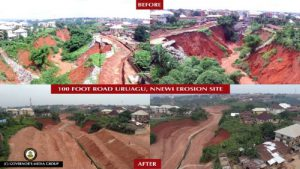 Combating Erosion In Anambra: The Newmap Front – By Ifeanyichukwu Afuba