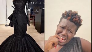 Comedienne Real Warri Pikin regrets supporting an up and coming tailor.