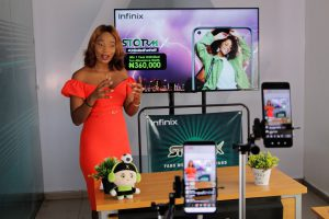 Infinix sets new trend; rewards four lucky winners with 1 year entertainment allowance in the StormX live digital raffle draw.