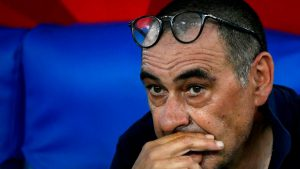 Juventus Sack Head Coach, Maurizio Sarri After Champions League Exit
