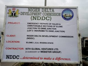 NDDC Crisis: Webster Global Ventures Refutes Allegations of Graft on Project Execution