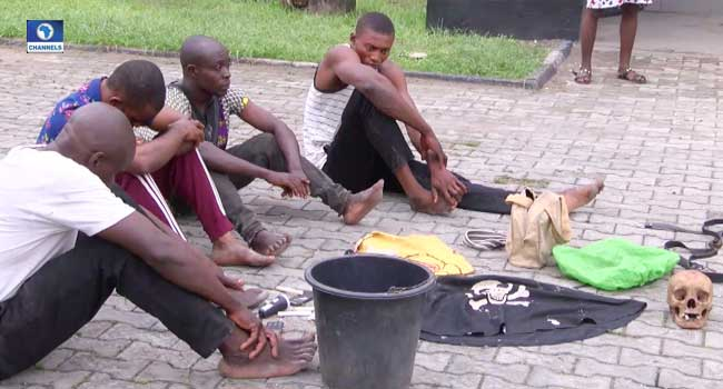 Cultists arrested