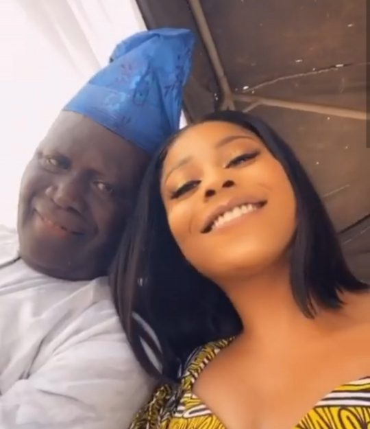 Actress, Lilian Afegbai Loses Her Father.