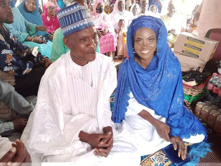 blue eyed woman remarries
