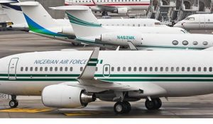 FG Puts Nine-year-old Presidential Jet On Sale
