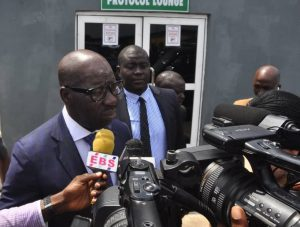 JUST IN: Obaseki Leads As INEC Declares Results In 14 LGAs