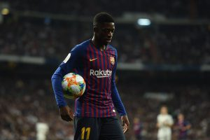 Koeman speaks on Dembele leaving Barcelona for Man Utd