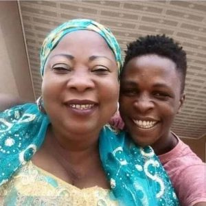 See Rare Photo Of BBNaija Housemate, Laycon And His Mother