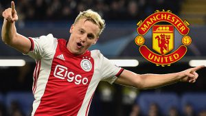 Van de Beek's agent hits out at Solskjaer, claims Man Utd should have lost 7-1 to Brighton