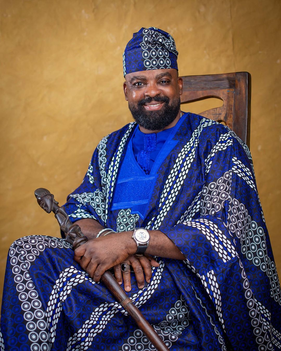 Kunle Afolayan celebrates 46th birthday