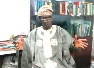 We have not transferred allegiances from ethnic nationalities to nationhood —Professor Adeniran