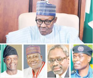 Buhari and EndSARS protests