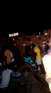 'Come and collect free food' – Looters announce as they cart away COVID19 palliatives stored in Adamawa govt warehouse (video)