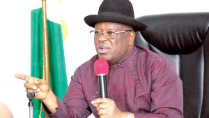 End SARS: Umahi bans police roadblock, vows to sack lecturers who fail to resume